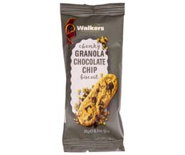 Walkers - Chunky Granola Chocolate Chip Biscuit - 60x20g