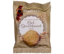 Walkers - Oat Shortbread Biscuit - 60x25g
