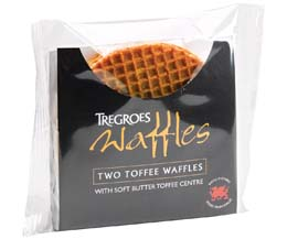 Tregroes Waffles - Butter Toffee Dbl - 15x2