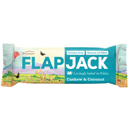 Wholebake - Flapjacks - Cashew & Coconut - 20x80g