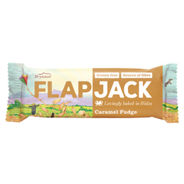 Wholebake - Flapjacks - Caramel Fudge - 20x80g