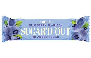 Ma Baker - Sugar'D Out Flapjack - Blueberry - 16x50g