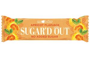 Ma Baker - Sugar'D Out Flapjack - Apricot - 16x50g