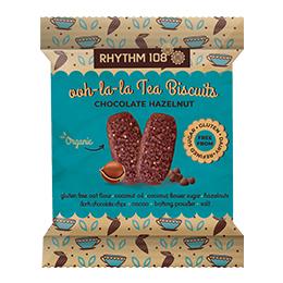 Rhythm 108 - Chocolate Hazelnut Tea Biscuit - 12x24G