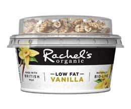 Rachels - Org Greek Vanilla Yog & Granola B/Fast - 6x135g