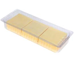 Mature Cheddar Slices (50x20g) - 1x1kg