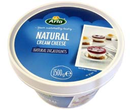 Arla - Reduced Fat Soft Cream Cheese (17%) - 1x1.5kg
