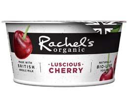 Rachels - Organic Luscious Cherry Yoghurt - 6x150g