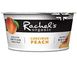 Rachels - Organic Luscious Peach Yoghurt - 6x150g
