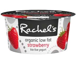 Rachels - Organic Luscious Strawberry Yoghurt - 6x150g