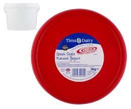 Tims Dairy - Greek Style Yoghurt - 1x2kg