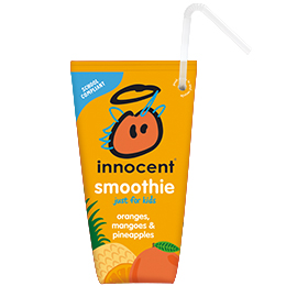 Innocent Kids Wedge Smoothie - Orange, Mango & Pineapple - 16x150ml