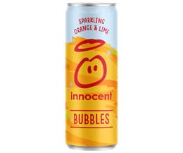 Innocent Bubbles - Cans - Orange & Lime - 12x330ml