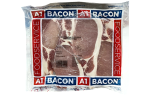 Unsmoked Rindless Back Bacon - 1x2.27kg
