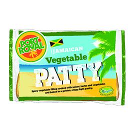 Jamaican - Vegetable Pattie - 8x140g