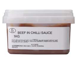 Sandwich Filler - Beef In Chilli Sauce - 1x1kg