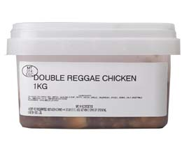 Sandwich Filler - Marinated Double Reggae Chicken - 1x1kg