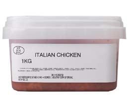 Sandwich Filler - Marinated Italian Chicken - 1x1kg