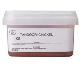 Sandwich Filler - Marinated Tandoori Chicken - 1x1kg