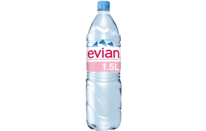 Evian Mineral Water - Still - 12x1.5L