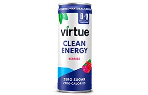 Virtue Clean Energy - Berries - 12x250ml