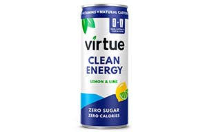 Virtue Clean Energy - Lemon & Lime - 12x250ml