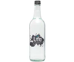 Life Water - Sparkling Glass - 12x75Cl
