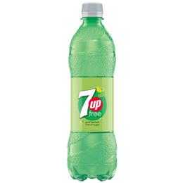 7Up Free - Bottles - 24x600ml