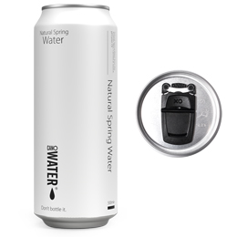 Cano Water - 500ML - Still Resealable Can - 12x500ml