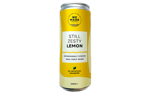 We Made - Cans - Zesty Lemon - 12x330ml