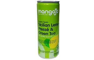 Mangajo Can - Sicilian Lemon Presse & Green Tea - 24x250ml