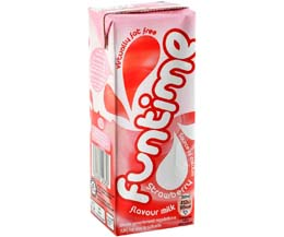 Funtime - Strawberry Milk - 30x200ml