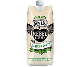 Rebel Kitchen Coconut Mylk - Matcha (Green) Latte - 12x330ml