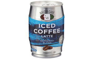 Master Cafe - Iced Coffee - Latte - 12x240ml