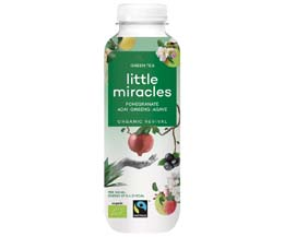 Little Miracles - Pomegranate & Green Tea - 12x330ml