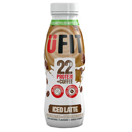 Ufit - Iced Latte Coffee - 8x310ml