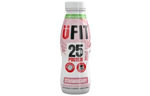 UFIT - High Protein Shake - Strawberry - 10x330ml