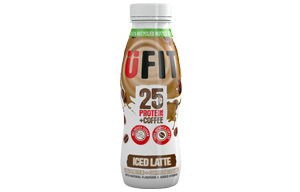 UFIT - High Protein Shake - Iced Latte - 10x330ml