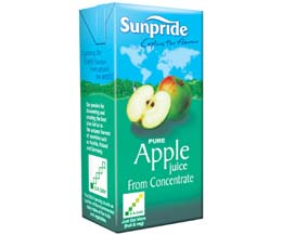 Sunpride Juices - 100% Apple - 12x1L