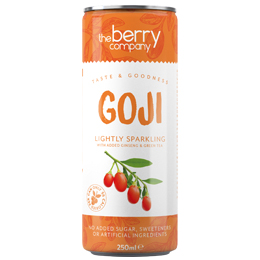 The Berry Company - Can - Sparkling Goji - 12x250ml