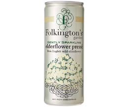 Folkingtons Cans - Elderflower - 12x250ml