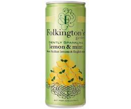 Folkingtons Cans - Lemon & Mint - 12x250ml