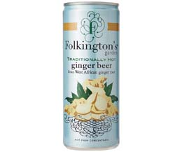 Folkingtons Cans - Ginger Beer - 12x250ml