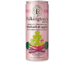 Folkingtons Cans - Rhubarb & Apple - 12x250ml
