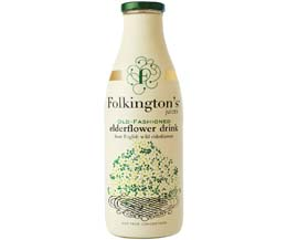 Folkingtons - 1L Elderflower - 6x1L