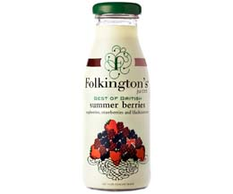 Folkingtons - British Summer Berries - 12x250ml Glass