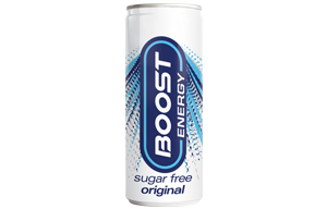 Boost Energy - Can - Sugar Free - 24x250ml