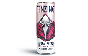 TENZING Natural Energy - Raspberry & Yuzu - 24x250ml