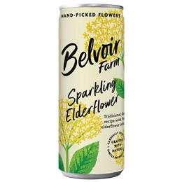 Belvoir Cans - Elderflower - 12x250ml