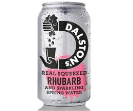 Dalston's - No Added Sugar - Light Rhubarb Seltzer- 24x330ml